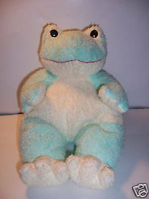 Ty Frogbaby -- Retired Plush Ty Baby Pillow Pal Green/yellow Frog -- Vgc