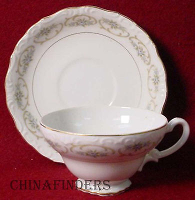 M JAPAN china CAMEO 3553 pattern CUP and SAUCER Set