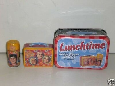Lunchtime Salt & Pepper Shakers by Vandor Brady Bunch