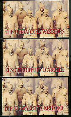 UNITED NATIONS TERRA COTTA WARRIORS 3 Booklets