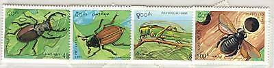 Insetti -  Insects Laos 1995