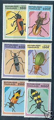 Insetti -  Insects Togo 1996