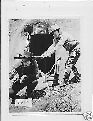 Richard Boone VINTAGE Photo Harry Morgan