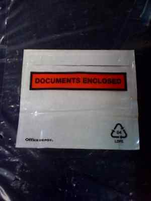 10000 A6 Printed Documents Enclosed Wallets +Free 24H