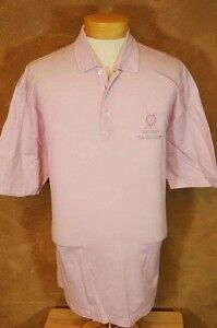 """ST ANDREWS LINKS, S/S GOLF POLO, PINK, sz """"XL"""", EXC"""