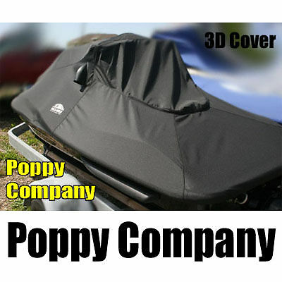 2004-2008 3D 3-D DI Sea Doo Boat Cover Fitted Black New