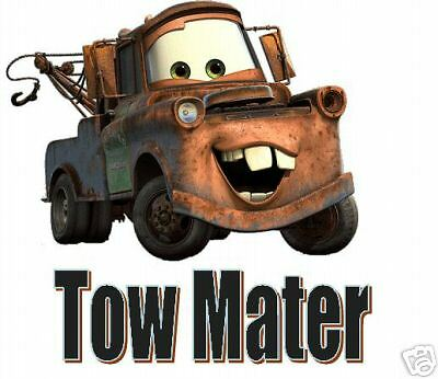 Cars Tow Mater  #1 5X7 T-Shirt Iron on Transfer