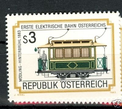 Treni Elettrici - Electric Trains Austria 1983