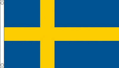 SWEDEN FLAG 5' x 3' Swedish Europe Country Flags