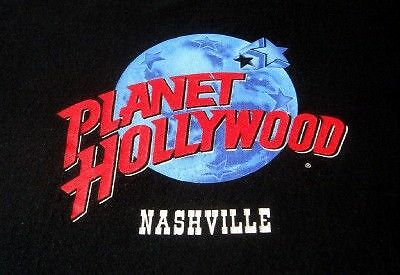 PLANET HOLLYWOOD *NASHVILLE* T-Shirt (XL)