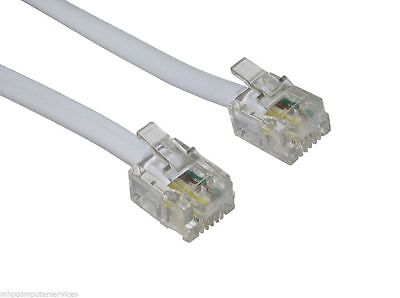 15m (49ft) High-Speed ADSL RJ11 Broadband Cable/Lead