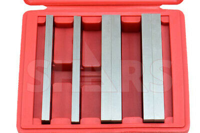 """Out Of Stock 90 Days 1/2"""" 3/16"""" Steel Parallel Set 4 Matched Pairs Parallels .00"""
