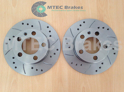 Fabia vRS 1.9 TDi 130 Drilled Grooved Brake Discs Rear