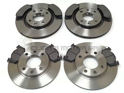 PEUGEOT PARTNER 1.9 DIESEL 2002-2005 FRONT 2 BRAKE DISCS AND PADS SET NEW