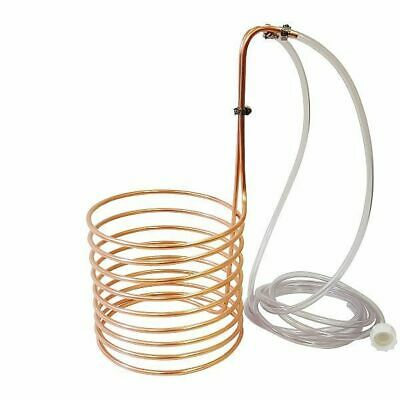 "NY Brew Supply 1/4"" x 20' Copper Wort Chiller - Homebrew Beer Immersion"