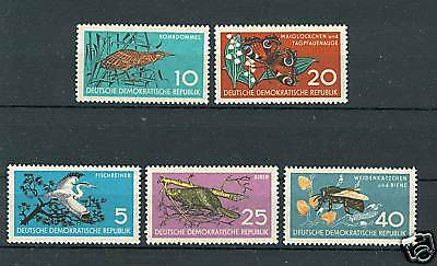 DDR 1959 Mi.688/92 - Nature Protection