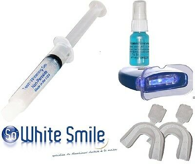 Kit  Blanchiment Des Dents  + Lampe Led *made  In Usa*