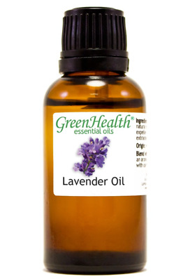 1 fl oz Lavender Essential Oil (100% Pure & Natural) - GreenHealth Bulk Discount