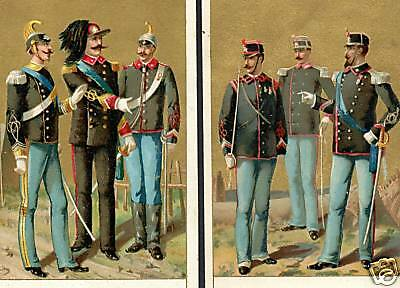 Italy Soldier War Uniform Sword 2x cards = Babbit SOAP