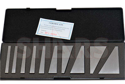 Shars 10 Pcs Machinist Ground Angle Blocks Set 1 - 30 Degree Hardened