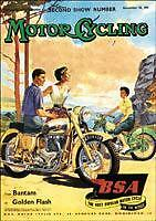 Vintage Ad Classic BSA Motorcycle Magazine Advert