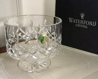 """Waterford Crystal LISMORE SIMPLICITY 5"""" FOOTED BOWL NEW"""