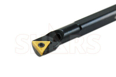 "Shars 3/8"" X 4.93"" Coolant Indexable Boring Bar Holder Tcmt New"
