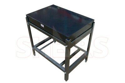 """OUT OF STOCK 90 DAYS 24 x 36 x 4"""" PRECISION BLACK GRANITE GRADE B SURFACE PLATE"""