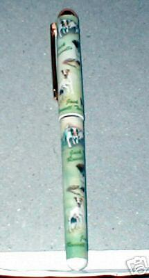 Jack Russell  Ink  Pen----Free Ship To Usa