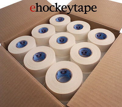 """72 Rolls of White Howies Cloth Hockey Stick Tape 1""""X25 yds"""