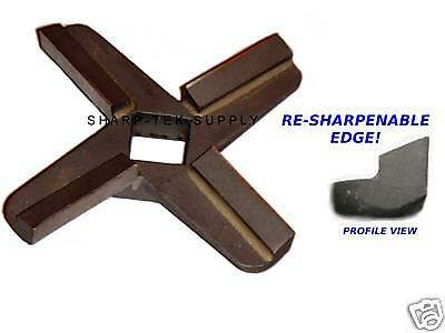 #10/#12 RE-SHARPENABLE  Meat Grinder Knife Blade Hobart