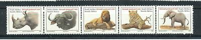 THE BIG FIVE RSA 1996 Air Mail Stamps strip