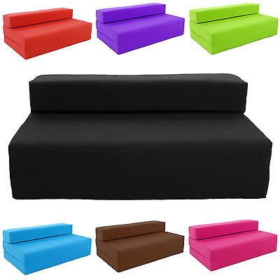 Astounding Block Filled Fold Up Sofa Bed Z Guest Foam Futon Mattress In Theyellowbook Wood Chair Design Ideas Theyellowbookinfo