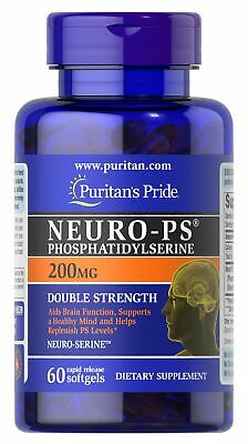 Neuro-PS, NeuroSerine Phosphatidylserine - 200mg x60caps