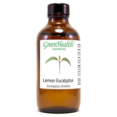 4 fl oz Lemon Eucalyptus Essential Oil (100% Pure & Natural) - GreenHealth