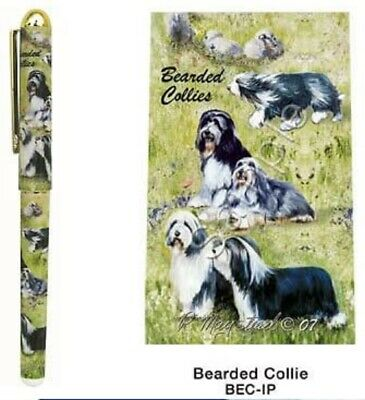 Bearded Collie Ink Pen----Free Ship To Usa