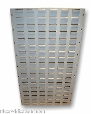Linbin Racking Plastic Storage Bin Racking Louvre Panel Vertical Free Delivery