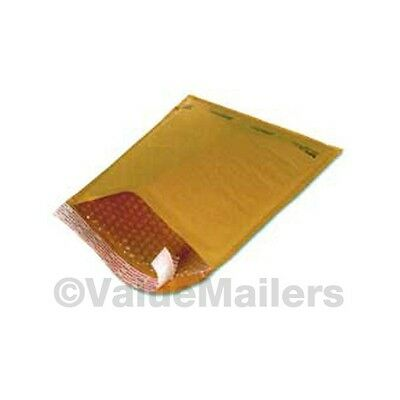 150 #1 Kraft Bubble Padded Envelope Mailers 7.25x12 100
