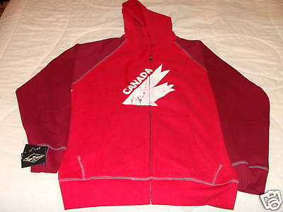 Team Canada Hockey Retro Hoodie  Roger Edwards Red M