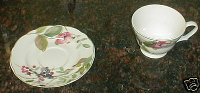 Charter Club Wild Flower Cup And Saucer
