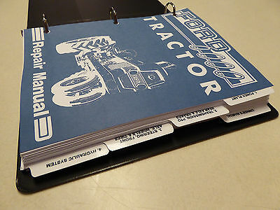 Ford Tractor Service Manual Repair Shop Book on Case 1090 1170 1175 Tractor Service Manual Repair Shop Book New With