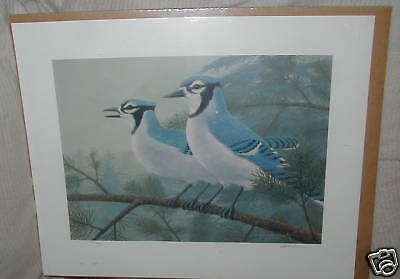 DC: J. Heidersbach, Signed Numbered Print, Blue Jays