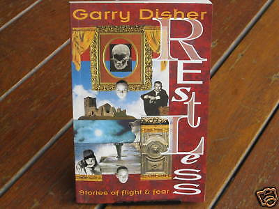 RESTLESS Garry Disher   #Author  Signed # CHILLING  SuperNATuRAL    in MELBOURNE