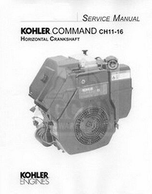 kohler engines owners manual command 11 12 5 14 hp vertical kohler command ch 11 12 5 13 14 15 16 hp service manual