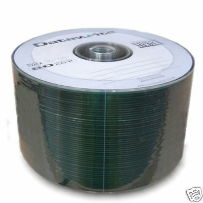 NEW 50 Datawrite 52x 700MB 80min CD-R  Disc Discs Non printable Surface
