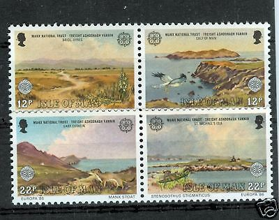 EUROPA CEPT - ISLE OF MAN 1986 Landscapes