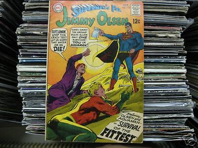 JIMMY OLSEN/SUPERMANS PAL-SURVIVAL OF THE FITT-#115-'68