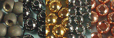 25 x BILLE LAITON / BRASS BEAD 2mm montage mouche fly tying trout truites