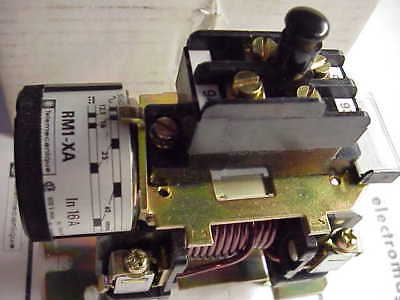 Telemecanique Rm1Xa0161 16 Amp Latching Adj.trip Relay