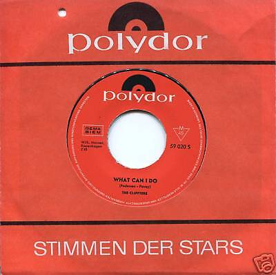 """THE CLIFTERS -7"""" What Can I Do (Dänemark Beat, D 1964)"""
